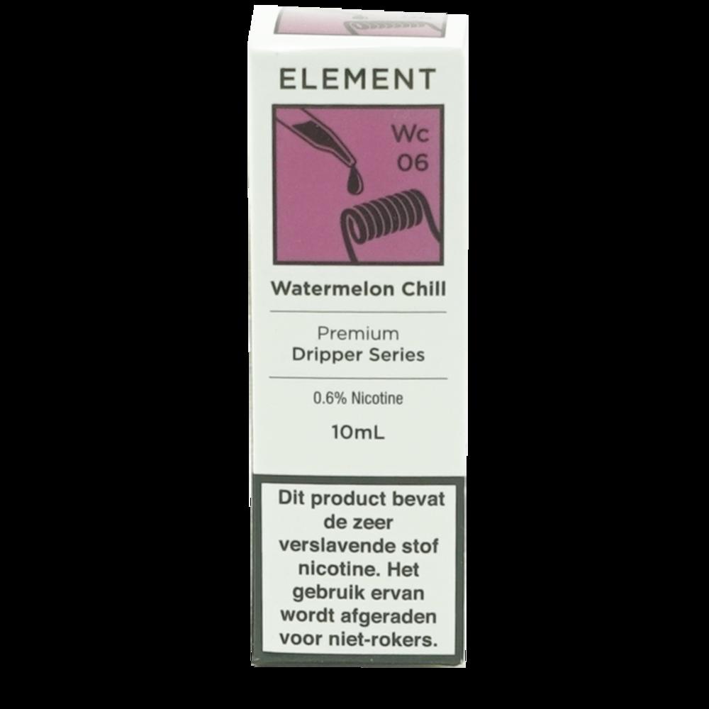 Watermelon Chill - Element e-Liquids DRIPPER series
