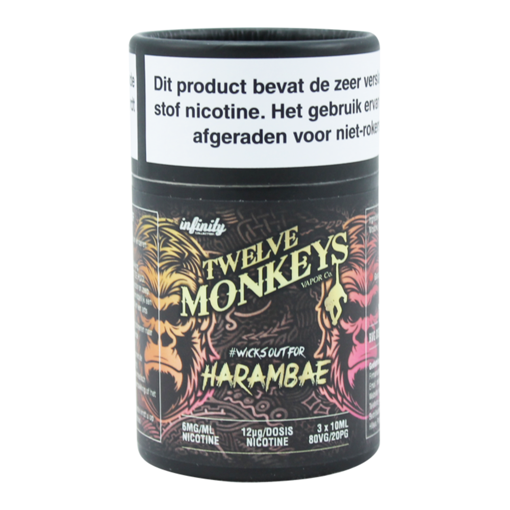 Harambae - Twelve Monkeys (3x10ml)