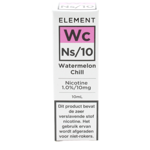 Watermelon Chill (Nic Salt) - Element e-Liquids