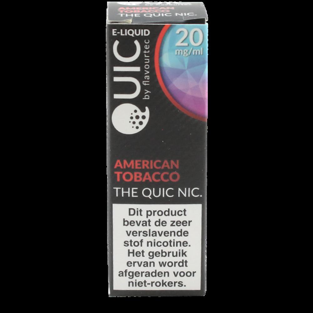 American Tobacco (Nic Salt) - Quic