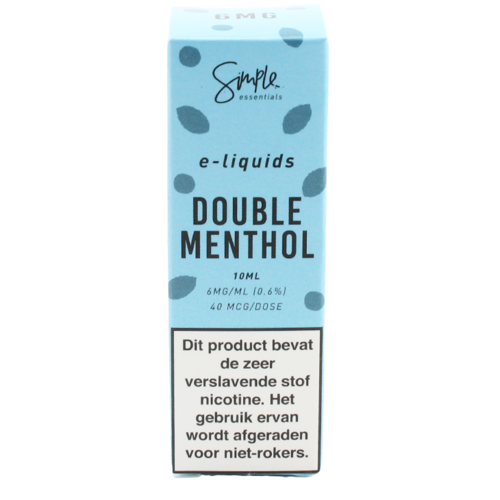 Double Menthol - Simple Essentials