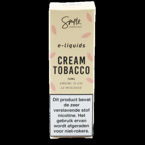 Cream Tobacco - Simple Essentials