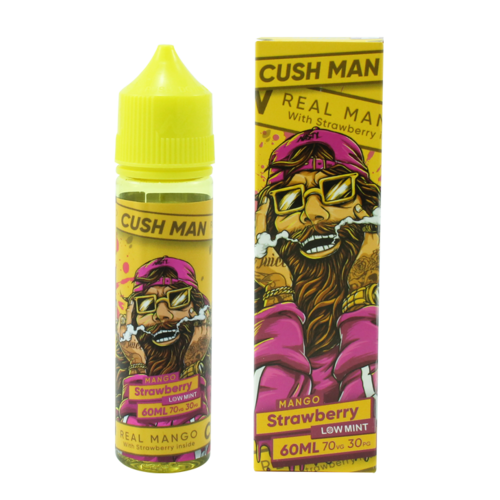 Mango Strawberry - Cush Man (Shortfill) (Shake & Vape 50ml)