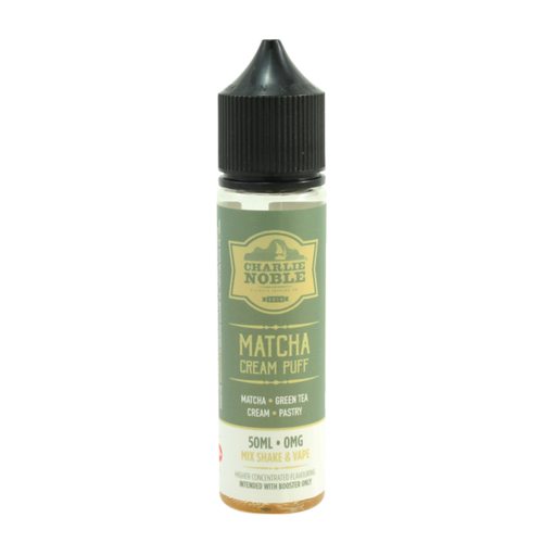 Matcha Cream Puff - Charlie Noble (Shortfill) (Shake & Vape 50ml)