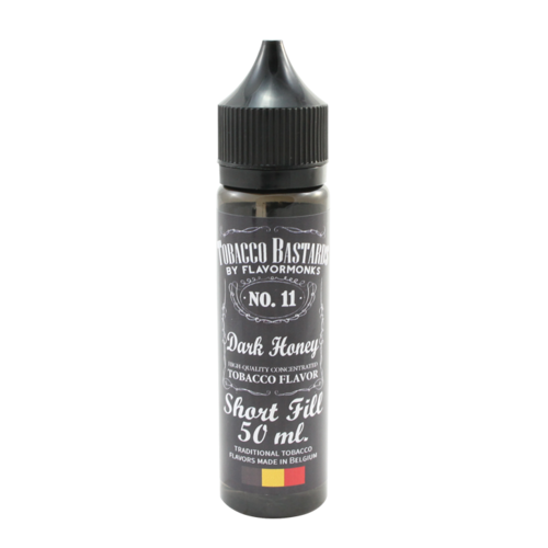 No. 11 Dark Honey - Tobacco Bastards (Shortfill) (Shake & Vape 50ml)